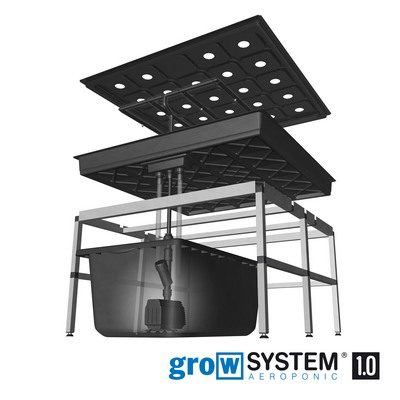 growtool growsystem aeroponic 1 0 100x100cm aeroponic hydrokultur. Black Bedroom Furniture Sets. Home Design Ideas